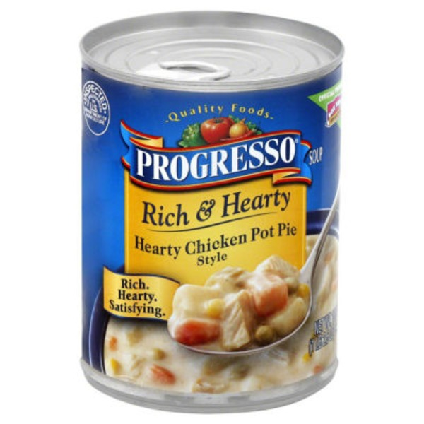 Progresso Rich & Hearty Hearty Chicken Pot Pie Style Soup