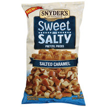 Snyder's of Hanover Salted Caramel Sweet and Salty Pretzel Pieces