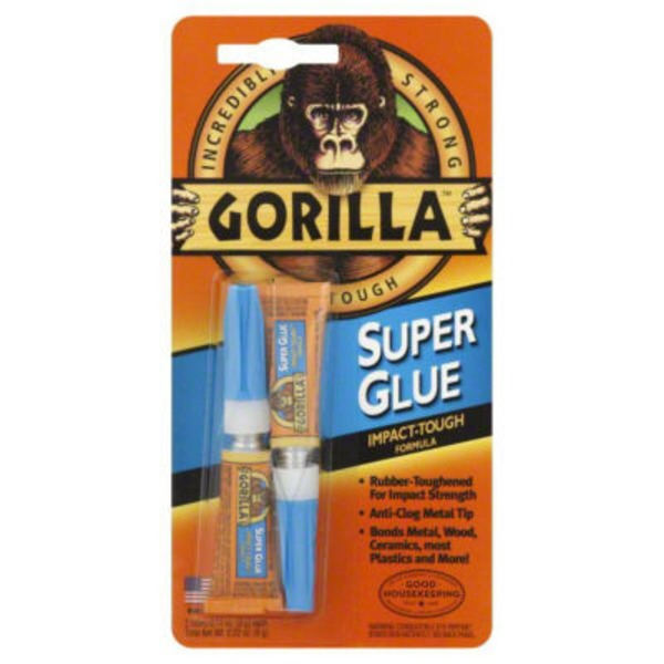 Gorilla Glue Super Glue - 2 CT