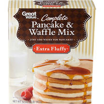 Great Value Extra Fluffy Complete Pancake & Waffle Mix