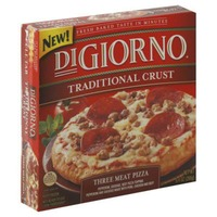 DiGiorno Traditional Crust Three Meat (Pepperoni, Sausage, Beef Pizza Topping) Pizza