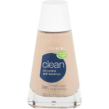 CoverGirl Clean Oil Control Foundation CREAMY BEIGE 550