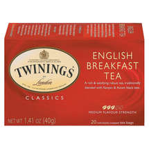 Twinings Of London English Breakfast Tea Bags