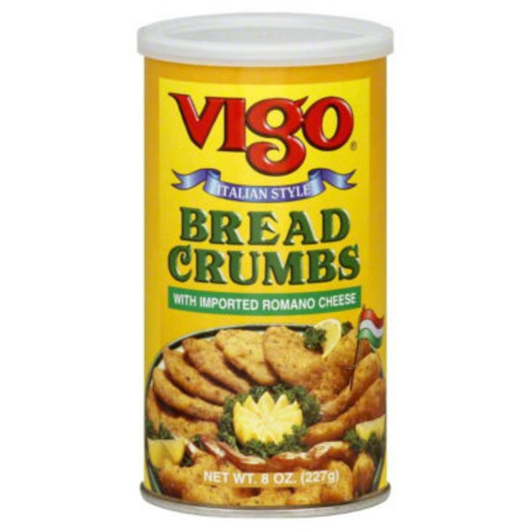 Vigo Bread Crumbs, Seasoned, Italian Style