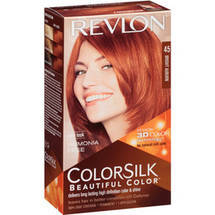 Colorsilk Beautiful Color Hair Color Kit #45 Bright Auburn