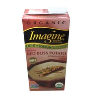 Imagine Foods Organic Creamy Red Bliss Potato & Roasted Garlic Soup Light In Sodium