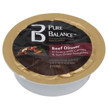 Pure Balance Beef Dinner Canned Dog Food