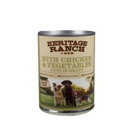 H-E-B Da Leash Premium Dog Food Grain Free With Chicken And Vegetables Cuts In Gravy With Carrots And Peas