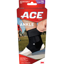 ACE Deluxe Ankle Stabilizer 209605 One Size Adjustable