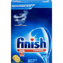 Finish Powder Dishwasher Detergent Lemon Fresh Scent