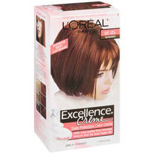 L'Oreal Excellence Creme Triple Protection Light Auburn 6R Hair Color