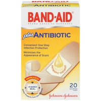 Band Aid® Brand Adhesive Bandages Antibiotic Assorted Super Premium