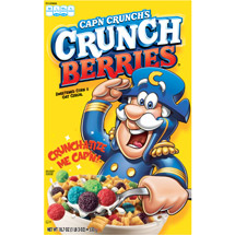 Quaker Cap'n Crunch Crunch Berries Cereal