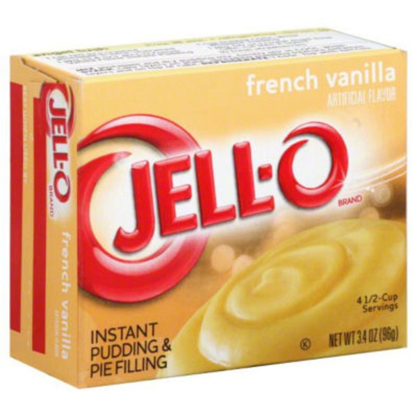 Jell-O French Vanilla Instant Pudding & Pie Filling Mix
