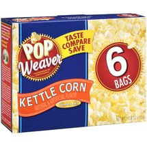 Pop Weaver Kettle Corn Microwave Popcorn
