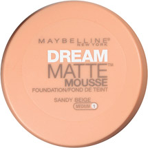 Maybelline Dream Matte Mousse Foundation Sandy Beige