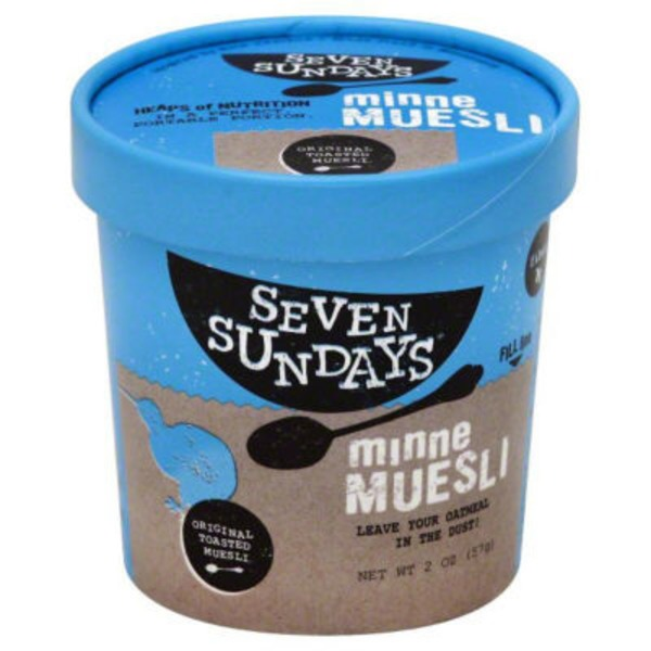 Seven Sundays Original Toasted Minne Muesli