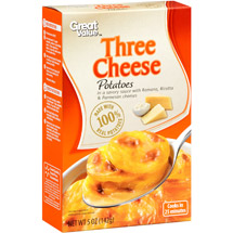 Great Value Three Cheese Potatoes