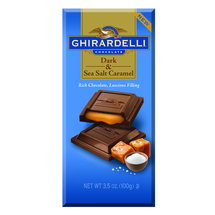 Ghirardelli Chocolate Dark & Sea Salt Caramel Chocolate
