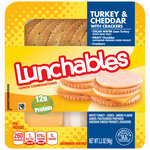 Oscar Mayer Lunchables Turkey & Cheddar Cheese with Crackers Lunchables