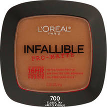 L'Oreal Paris Infallible Pro-Matte Powder 700 Classic Tan