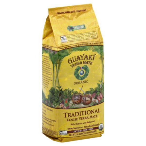 Guayaki Yerba Mate Come To Life Traditional Loose Leaf