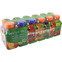 Naked Juice Pure Fruit Berry Blast/Pure Fruit Mighty Mango/Boosted Green Machine/Pure Fruit Strawberry Banana Variety Pack 100% Juice Smoothies
