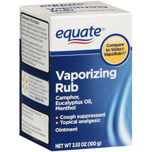 Equate Vaporizing Rub