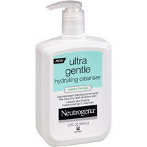 Neutrogena Ultra Gentle Creamy Formula Hydrating Cleanser
