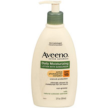 Aveeno Active Naturals With Sunscreen Spf 15 Daily Moisturizing Lotion