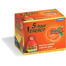 5-Hour Energy Orange Dietary Supplement Drink
