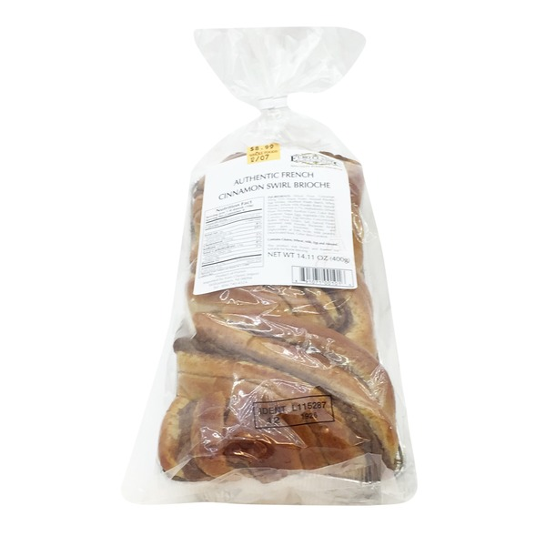 Euro Classic Imports Authentic French Cinnamon Swirl Brioche
