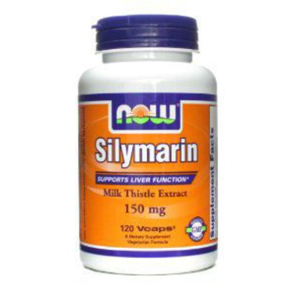 Now Silymarin Milk Thistle Extract 150 Mg v-caps