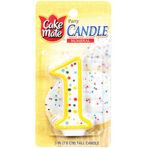 Cake Mate Numeral Candle #1