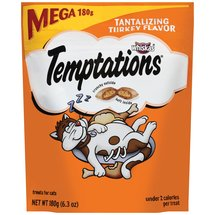 Whiskas Temptations Tantalizing Turkey Flavor Cat Care & Treats