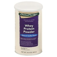 Central Market Natural Vanilla Flavor Whey Protein Powder