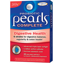 Pearls Probiotic Complete Digestive Health Softgels