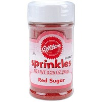Wilton Red Sugar Sprinkles