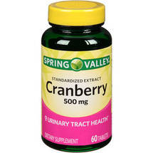 SV Cranberry 500mg 60ct