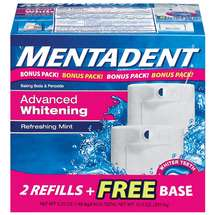 Arm & Hammer Mentadent Advanced Whitening Refreshing Mint Toothpaste