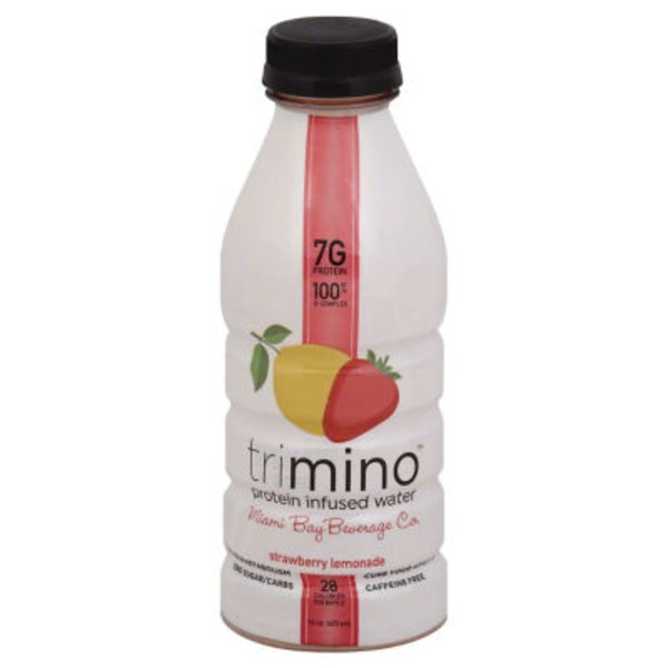 Trimino Protein Infused Water Strawberry Lemonade