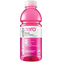 Glaceau Vitamin Water Zero Focus Kiwi-Strawberry Water Beverage