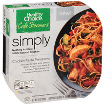 Healthy Choice Cafe Steamers Simply Chicken Pasta Primavera