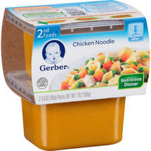 Gerber 2nd Foods Chicken Noodle Nutritious Dinner