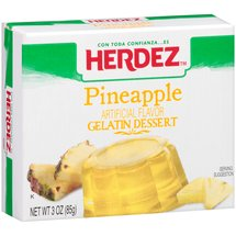 Herdez Pineapple Gelatin Dessert Mix