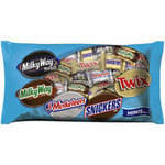 Mars Milky Way Midnight/Milky Way/3 Musketeers/Snickers/Twix Candy Minis Mix