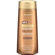 L Oreal Sublime Bronze Luminous Bronzer Self-Tanning Lotion
