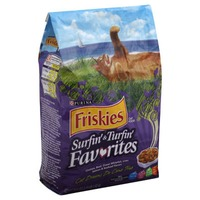 Friskies Dry Surfin' & Turfin' Favorites Cat Food