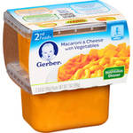 Gerber 2nd Foods Macaroni & Cheese with Vegetables Baby Food