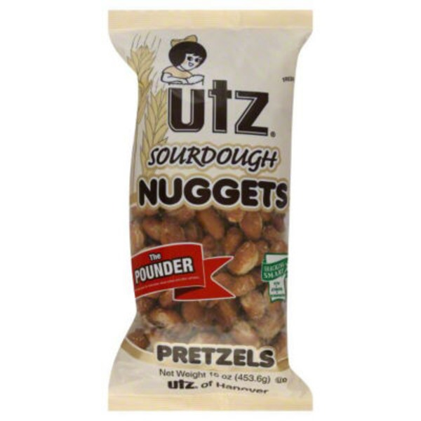 Utz Wheels Pretzels The Pounder